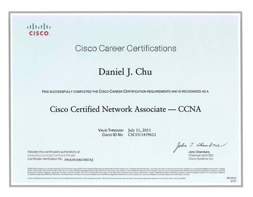 daniel chu professional details resume
