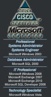Profile IMG: Certifications